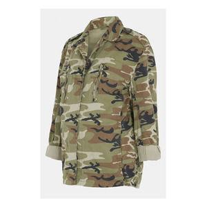 Topshop Camo Maternity Jacket Size 6